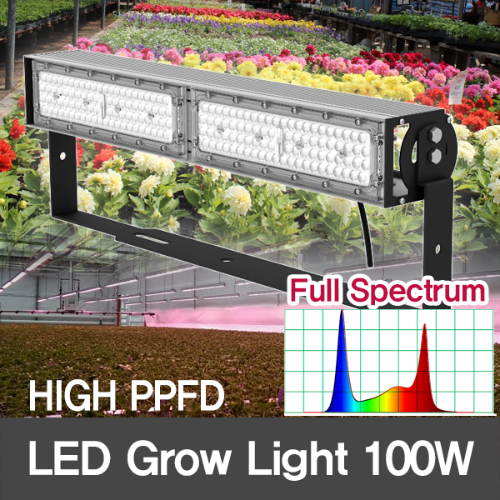[Full spectrum] 100W LED Grow Flood Light for Plant Growth/HIGH PPFD