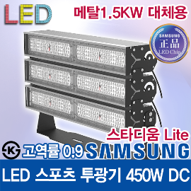 Samsung LED Chip LED High Power Factor Sports Floodlight 400W Lens Concentration / Metal Halide 1KW ~ 1.5KW Replacement Lighting / work light / dust proof light / moisture proof light / tunnel light / warehouse / baseball field / car wash / KS /