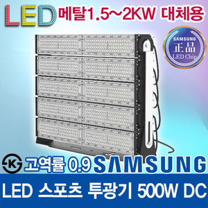 Samsung LED Chip LED High Power Sports Floodlight 500W Lens Concentration / Metal Halide 1.5KW ~ 2KW Replacement Lighting / work light / dust proof light / moisture proof light / tunnel light / warehouse / baseball field / car wash / KS / free b