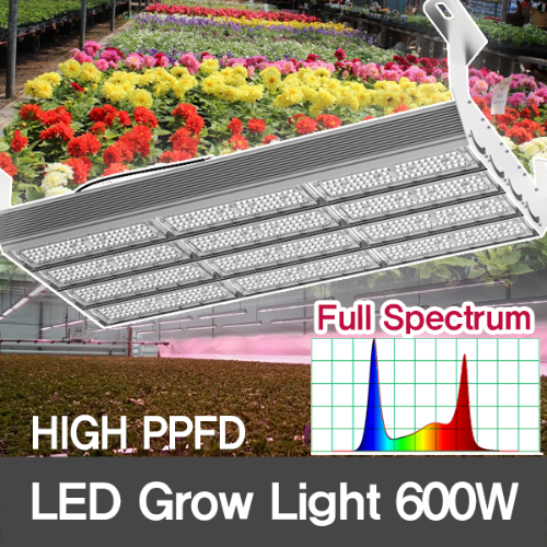 [Full spectrum] 600W LED Grow Flood Light for Plant Growth/HIGH PPFD