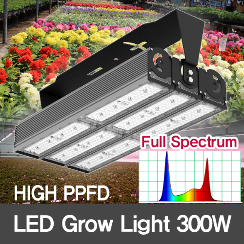 [Full spectrum] 300W LED Grow Flood Light for Plant Growth/HIGH PPFD