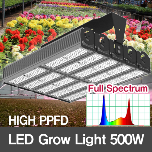 [Full spectrum] 500W LED Grow Flood Light for Plant Growth/HIGH PPFD